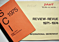 Review - Revue 1971-1974 and Annual Report 1975