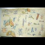 Children's drawing, Sidi Larbi (1960s) -