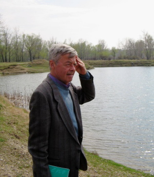 Arthur Gillette cConcerned about pollution in eastern Romania.