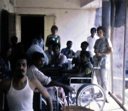house set up for paraplegics following the War of Independence 1973